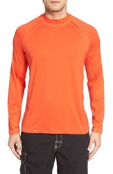 Tommy Bahama Men's Big And Tall Surf Chaser Crewneck T Shirt Lava Flow