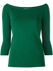 Dondup Slim Fit Sweater Women Cotton L Green