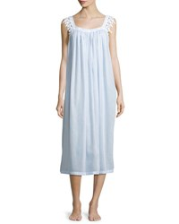 Celestine Annetin Sleeveless Long Nightgown Light Blue