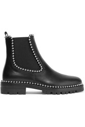 Alexander Wang Spencer Studded Leather Chelsea Boots Black