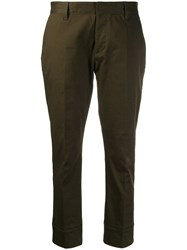 Dsquared2 Classic Tailored Trousers Green