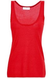 Amanda Wakeley Woman Cashmere Tank Red
