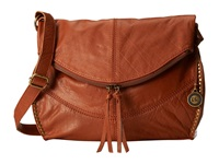 The Sak Silverlake Messenger Tobacco Cross Body Handbags Brown