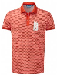 Bunker Mentality Cmax Polka Polo Orange