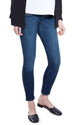 Topshop Women's Leigh Skinny Maternity Jeans Mid Denim