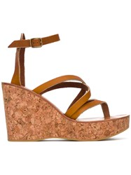 K. Jacques Cunegonde Sandals Brown