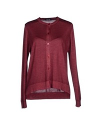 Anneclaire Cardigans Deep Purple