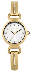 Oasis Ladies Gold Tone Bangle Watch Gold