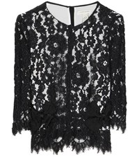 Marc Jacobs Lace Blouse Black