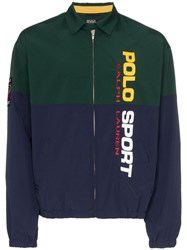 Polo Ralph Lauren Logo Printed Jacket Green