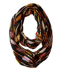 Vera Bradley Infinity Scarf Feather Arrows Scarves Burgundy