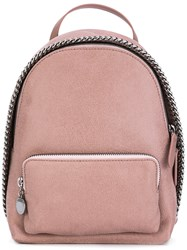 Stella Mccartney Mini Falabella Backpack Pink Purple