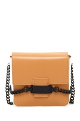 L.A.M.B. Fabiola Crossbody Brown