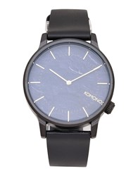 Komono Wrist Watches Dark Blue