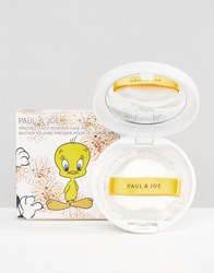 Paul And Joe Warner Bros Limited Edition Powder Case Tweetie Pie Loony Tunes Clear