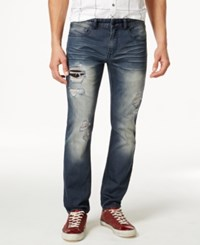 Inc International Concepts Lyon Ripped Dark Wash Jeans Only At Macy's
