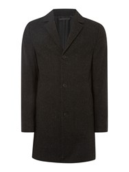 Label Lab Dakota Single Breasted Coat Grey