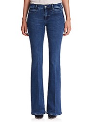Mih Jeans Marrakesh High Rise Flared Blue