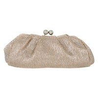 Oasis Clarissa Bobble Clutch Bag Multi Gold