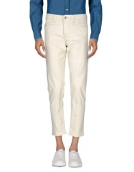 9.2 By Carlo Chionna Casual Pants Ivory