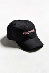 Urban Outfitters Iron Maiden Baseball Hat Black