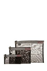 Sons Of Trade Assignment Kit Zip Mesh Storage Bags Gray