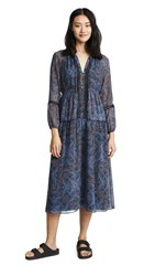 Ella Moss Monarch Handkerchief Dress Navy