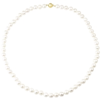 Unbranded Gold Plated Freshwater Pearl Knotted Necklace