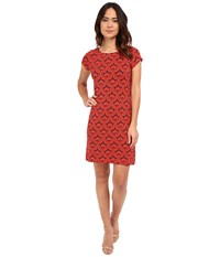 Hatley T Shirt Dress Embossed Flowers Women's Dress Blue