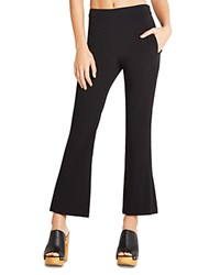 Bcbgeneration Cropped Flare Pants Black