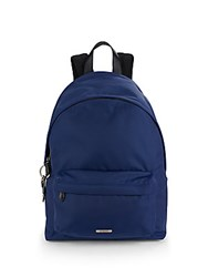 Givenchy Leather Handle Backpack Navy