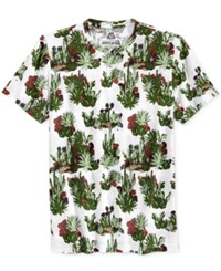 American Rag Men's Cacti Graphic Print T Shirt Only At Macy's Bright White