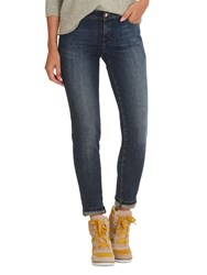 Betty And Co. Easy Fit Five Pocket Jeans Dark Blue Denim