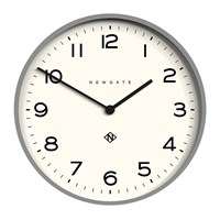 Newgate Number One Echo Wall Clock Posh Grey