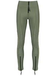 Andrea Bogosian Love Deeply Fitted Jeans Green