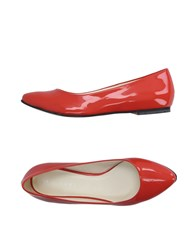 Stefanel Footwear Ballet Flats Women Red