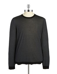 Strellson Wool And Cashmere Sweater Black