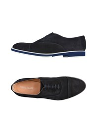 Pierre Darre Lace Up Shoes Dark Blue