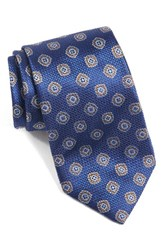 David Donahue Men's Medallion Woven Silk Tie