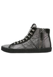 Replay Hightop Trainers Black