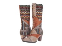 Spring Step Malag Grey Women's Lace Up Boots Gray
