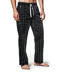 Lacoste Crocodile Print Lounge Pants Black