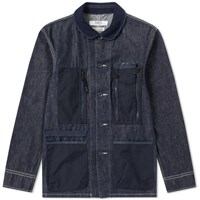 Fdmtl Mspc Coverall Jacket Blue