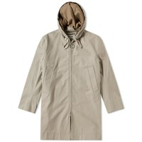 Acne Studios Melt Twill Parka Brown