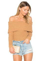Lovers Friends X Revolve Vylette Sweater Tan