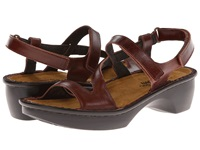 Naot Footwear Tuscany Luggage Brown Leather Women's Shoes Mahogany