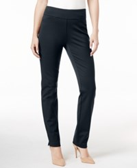 Charter Club Tummy Control Ponte Leggings Only At Macy's Deepest Navy