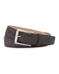 Robert Graham Lewis Suede Belt Black