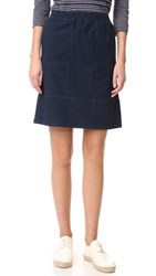 A.P.C. Stacy Skirt Indigo Delave