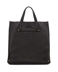 Red Valentino Leather Tote Bag Black Men's